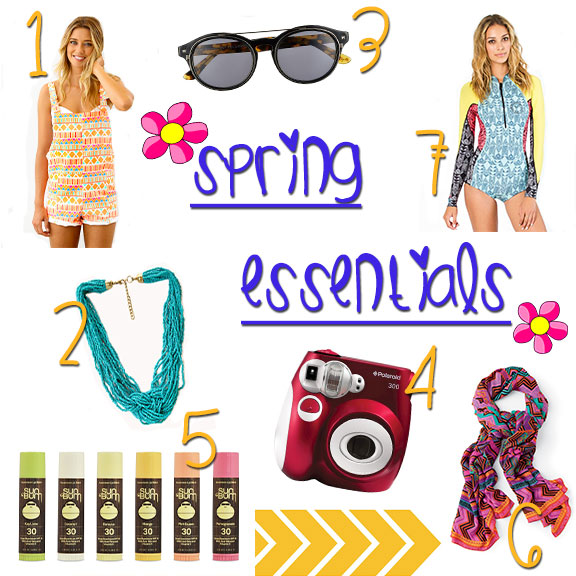 spring-essentials