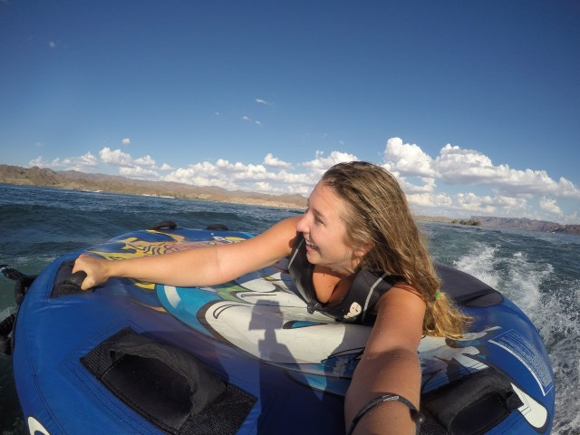 Water activities at Lake Havasu.